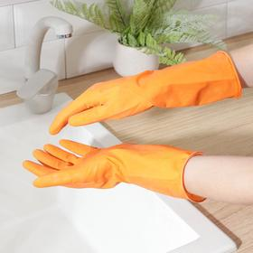 Latex gloves, size M, color MIX