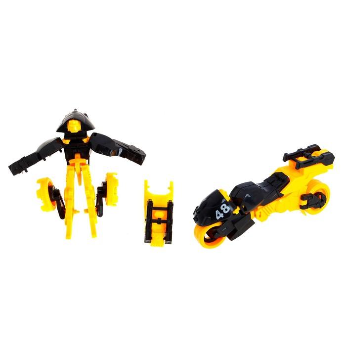 Робот-трансформер «Мотобот», цвета МИКС