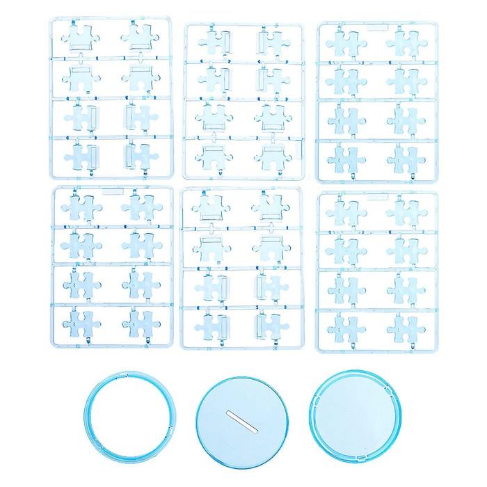 """Пазл 3D кристаллический, """"Карандашница"""", 51 деталь, цвета МИКС"""