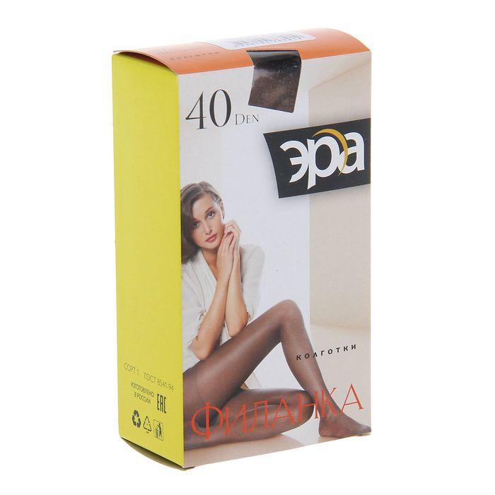 Колготки женские Филанка 40 (телесный, 2)