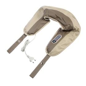 Массажёр наплечный для спины и шеи, пульт, несколько режимов работы, 220V