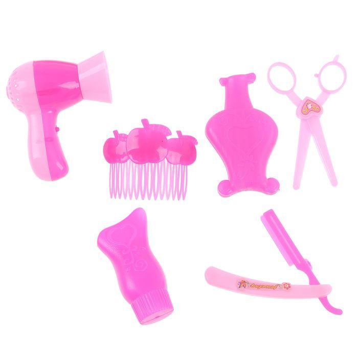 """Набор парикмахера """"Прелесть"""", 6 предметов"""