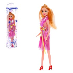 Doll in a dress, MIX color