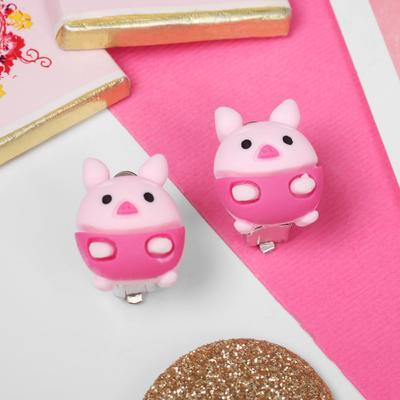 "Clip children ""Vibracula"" pig color pink"
