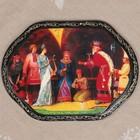 Панно «Сказки», лаковая миниатюра, 16х22 см, микс