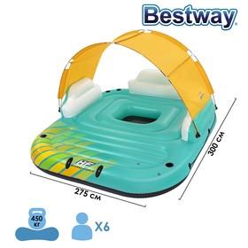 Плот надувной для плавания Sunny, 300 x 275 см, 43407 Bestway