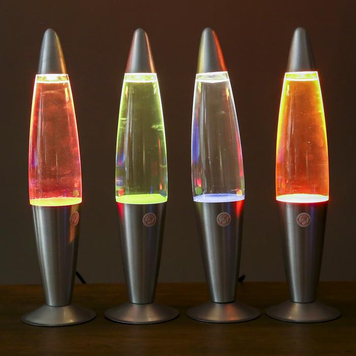 "Лава-лампа ""Красные капли"", h=41см"