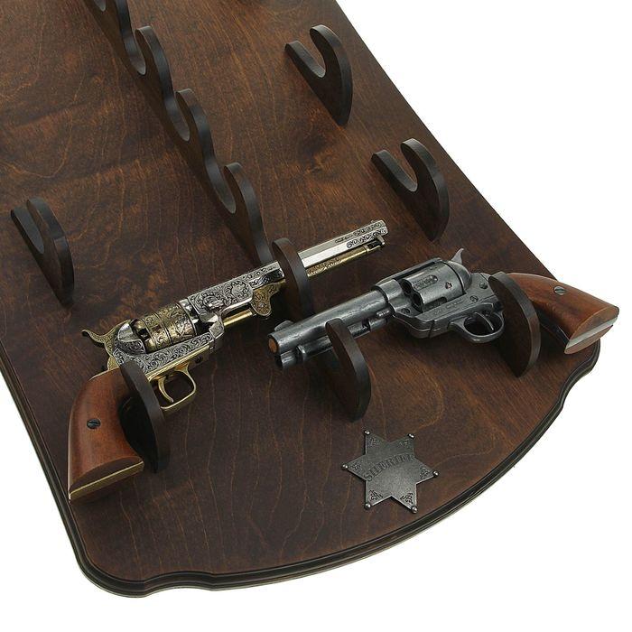 Панель под револьверы