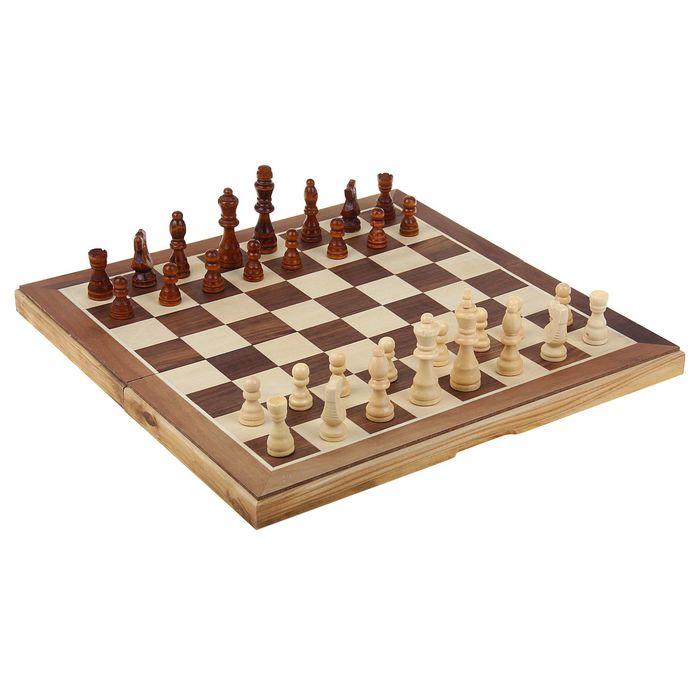 Шахматы настольные, поле 39 × 39 см