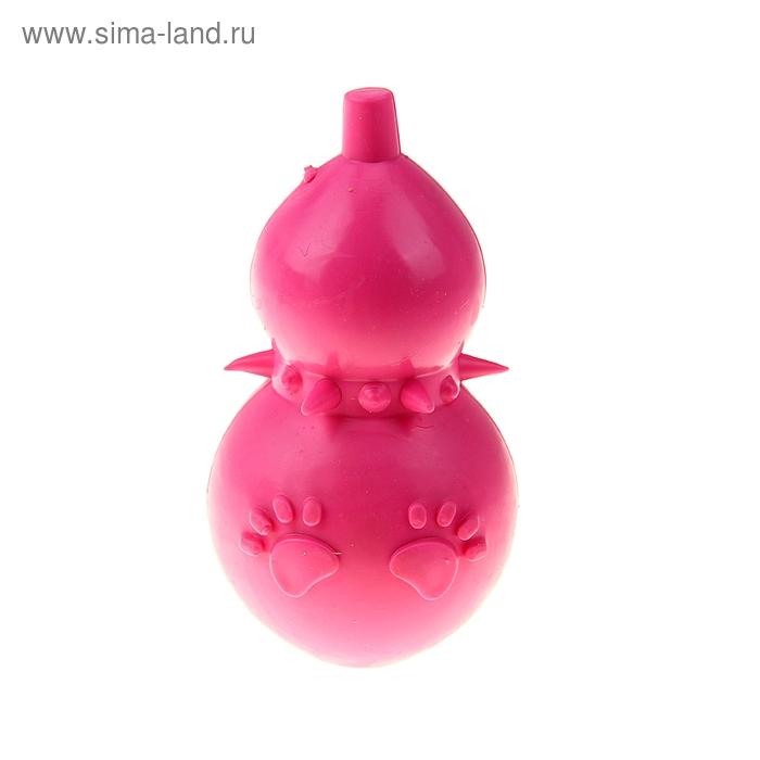 """Игрушка резиновая жевательная """"Тыковка"""", 12,5 см, микс цветов"""