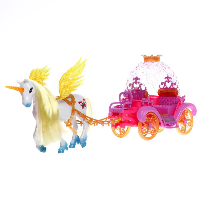 Карета для кукол «В сказочном мире» световые и звуковые эффекты
