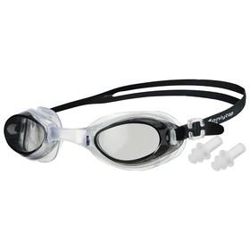 Очки для плавания с берушами, в чехле силиконовом, МИКС Ош