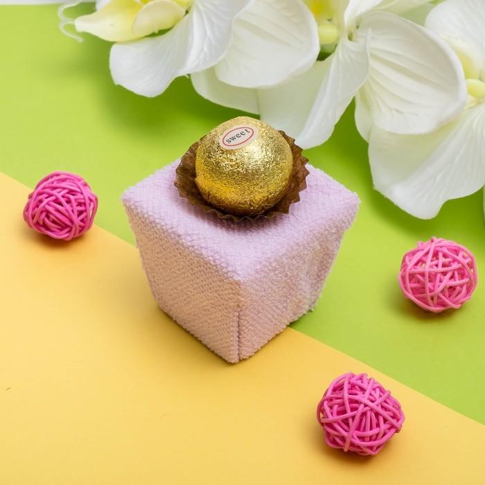 Сувенирное полотенец Вишневый десерт 20*20 см