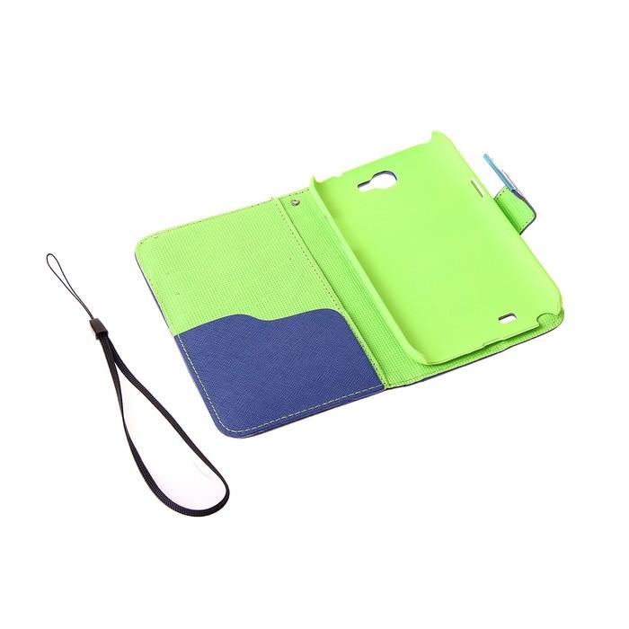 Чехол для телефона Samsung Galaxy Note 2, 7100, откидной, с магнитным замком, МИКС