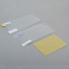 Screen protector film for Apple iPhone 4G/4S, transparent (to the screen and back cover)