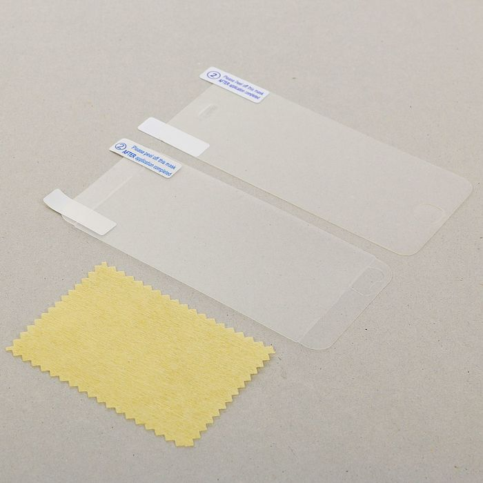 Защитная плёнка для iPhone 5/5S/5C/SE, матовая (для экрана и задней крышки)