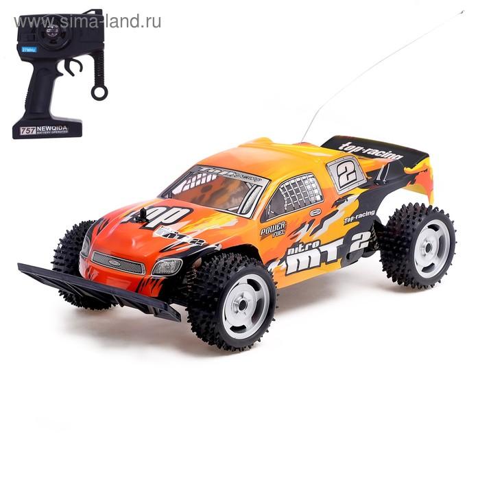 """Машина радиоуправляемая """"Багги-кросс"""", с аккумулятором, масштаб 1:10"""