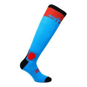 Носки SIXS LONG RACING, LORAIII-TURO, цвет Красный/Голубой, размер 44 - 47 Ош