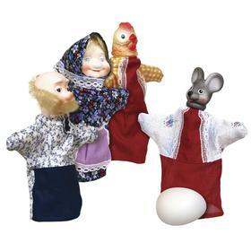 """Кукольный театр """"Ккрочка ряба"""" в пакет пвх С-1345"""