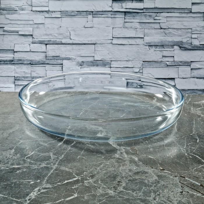 Форма для запекания стеклянная 280x45 мм