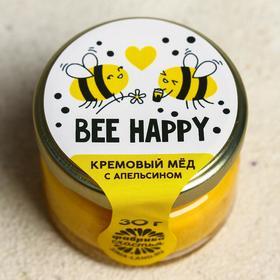 Кремовый мёд с апельсином «Пчёлки», 30 гр.