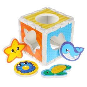 Развивающая игрушка - сортер из EVA «Забавные фигурки» МИКС