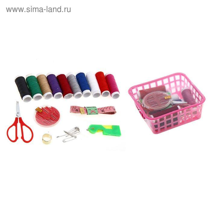 Набор для шитья, 16 предмета, цвета МИКС
