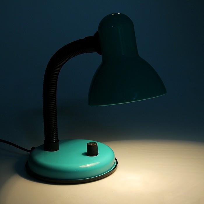 Настольная лампа с роликом, зеленая