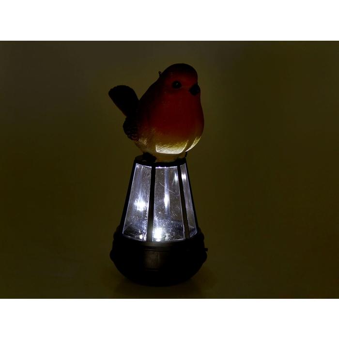 """Светильник на солнечной батарее """"Красная птичка"""""""