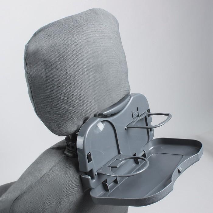 Подставка на подголовник MDC-106, пластиковая, серая