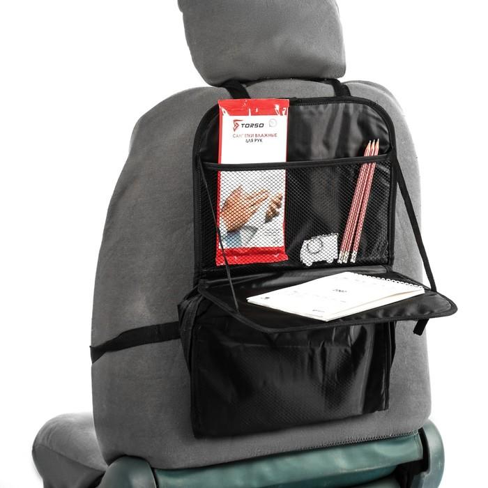 Органайзер универсальный на спинку сиденья, 50х32 см , с термоотделением
