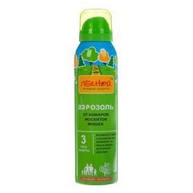 """Аэрозоль репеллентный """"Лесной"""", от комаров, москитов, мошек, 150 мл"""