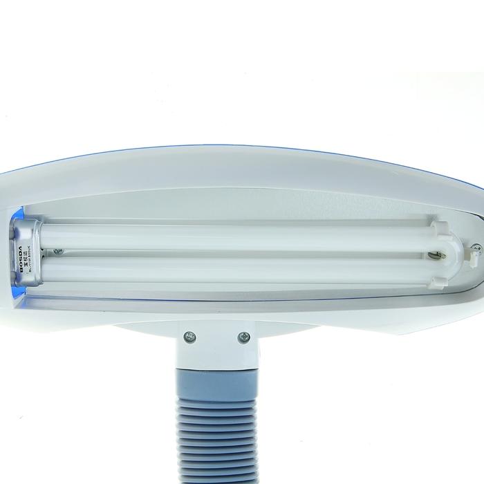 Настольная лампа с подставкой для ручек, синяя