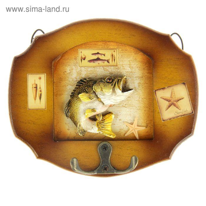 """Крючки декоративные """"Хитрый ёрш"""""""