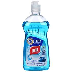 Средство для мытья посуды HELP Антибактериальный гель, 500 мл