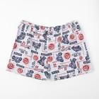 Трусы-шорты для мальчика, цвет МИКС, рост 110-116 см (60) - фото 1938984