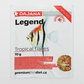 Корм Dajana Legend Tropical Flake  для рыб, 80 мл., 10 г