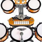 Барабанная установка «Универсальный музыкант», с синтезатором, микрофоном и стульчиком - фото 106985166