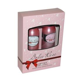 Подарочный набор женский Dolce Rose N 231: шампунь, 250мл и гель для душа, 250 мл