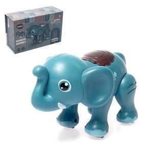 """Игрушка интерактивная """"Слон"""" с функцией записи голоса, ходит, звук"""
