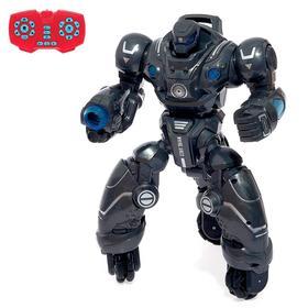"""Робот радиоуправляемый """"Кибер воин"""", световые и звуковые эффекты, цвета МИКС"""