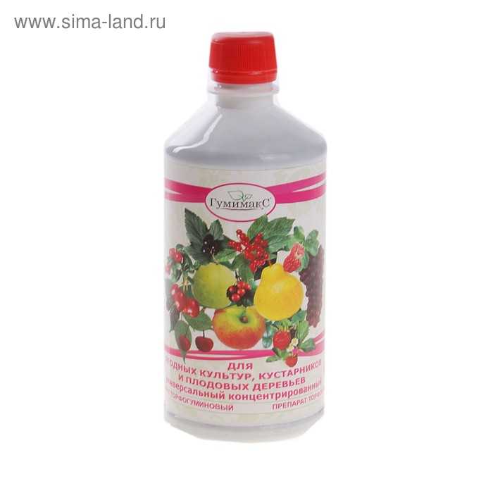 Удобрение универсальное для ягодных культур, кустарников и плодовых деревьев 0,5 л