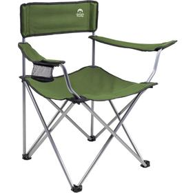 Кресло складное кемпинговое JUNGLE CAMP Raptor, 50 х 50 х 80 см, цвет зелёный