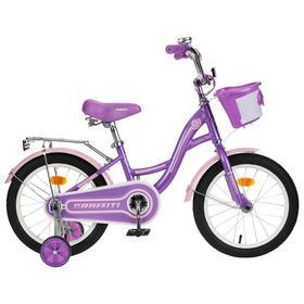 """Велосипед 16"""" Graffiti Premium Girl, цвет сиреневый/розовый"""