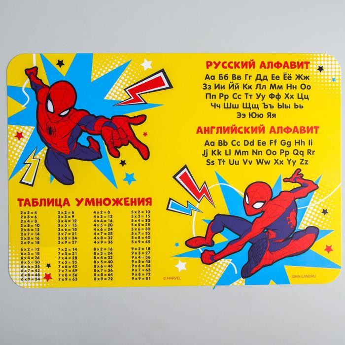 Коврик для лепки «Человек Паук», формат А3 - фото 2163446