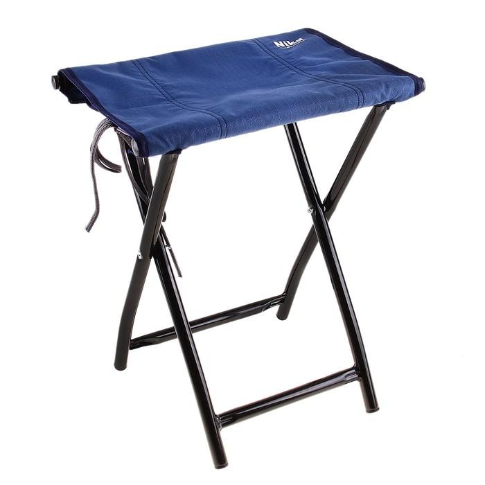Стул складной, 35 х 28 х 41 см, цвет синий