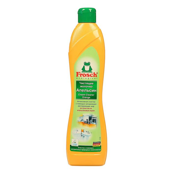 Чистящее молочко Frosch абразивное, апельсин, 0,5 л