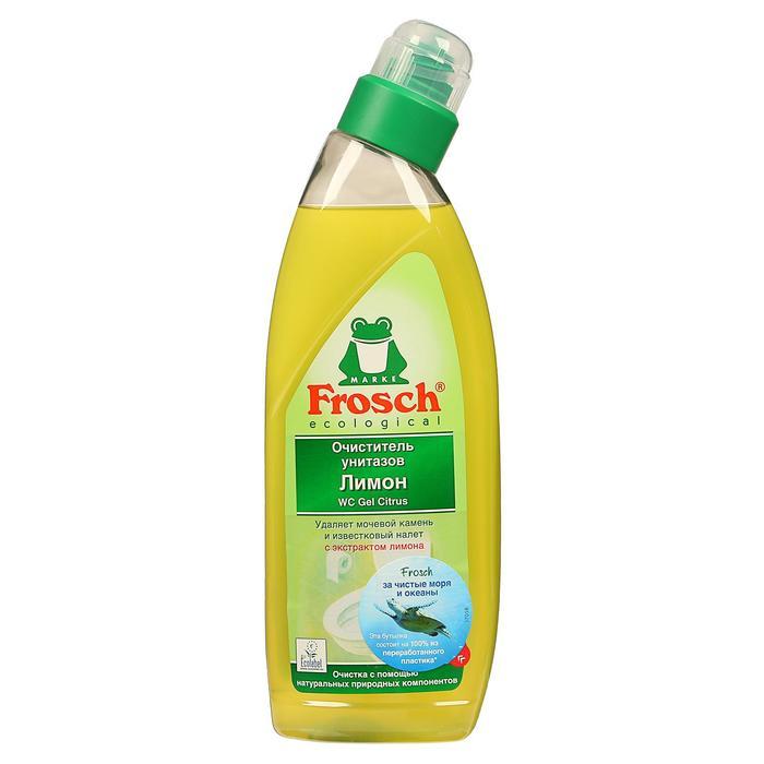 Очиститель унитаза Frosch, лимон, 0,75 л