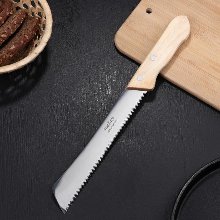 """Нож для хлеба 31,5 см """"Ретро"""", режущая часть 20 см"""