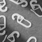 Hook-latch cornice (fas 100 pcs, price per piece) white